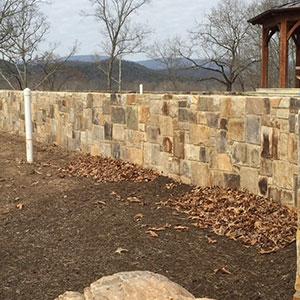 Thin Stone Wall